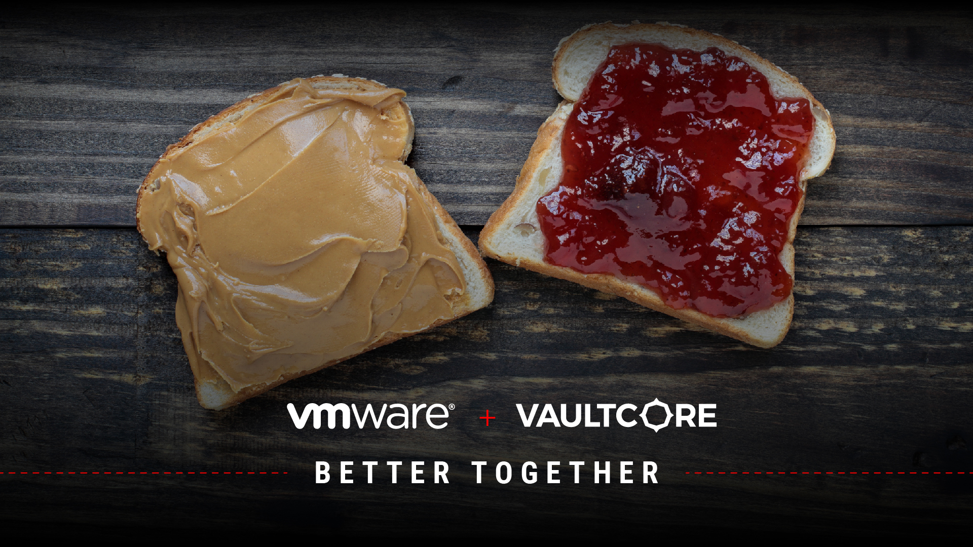 Some Things Just Go Better Together, Like VMware and VaultCore